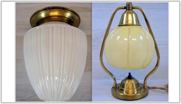Art Deco Glass Table Lamp Shades