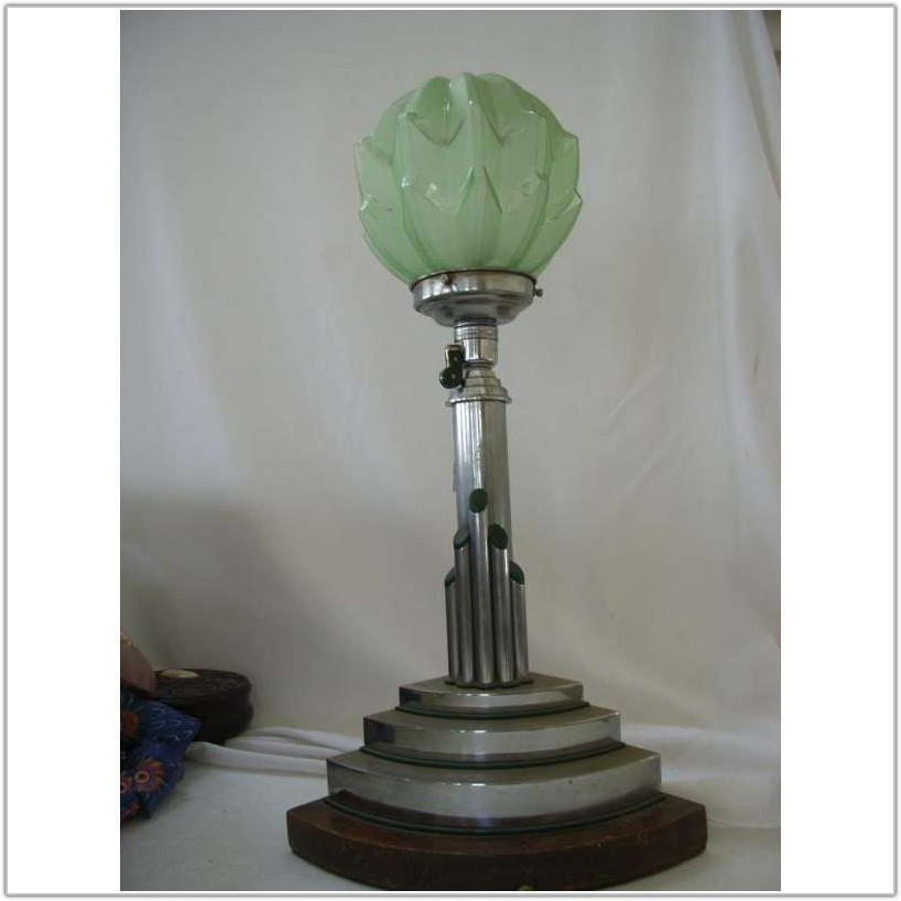 Art Deco Lamp Shade Frames