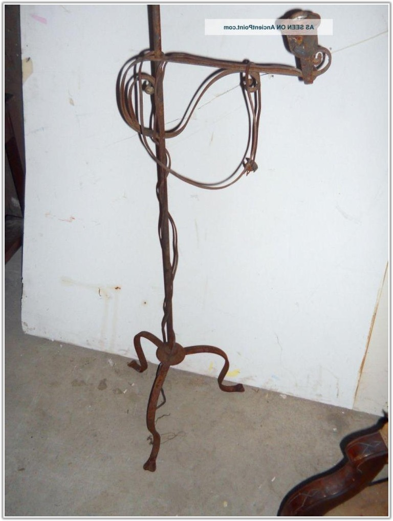 Arts And Crafts Floor Lamp Antique