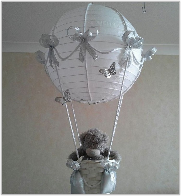 Baby Blue Lamp Shade For Nursery