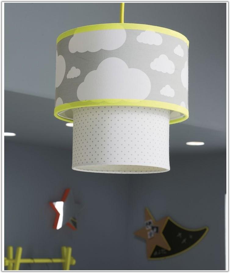 Baby Blue Nursery Lamp Shade