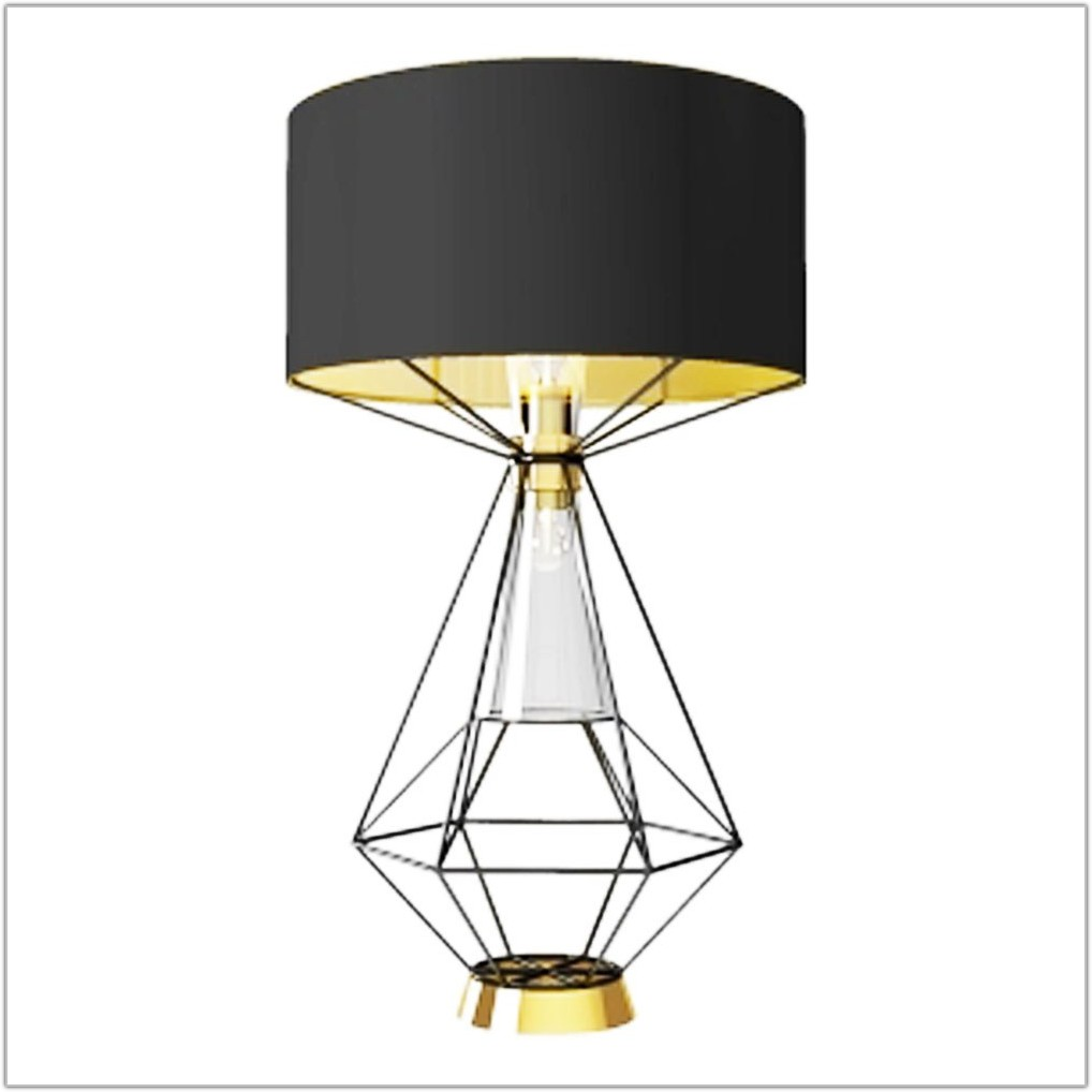 Black And Gold Lava Lamp