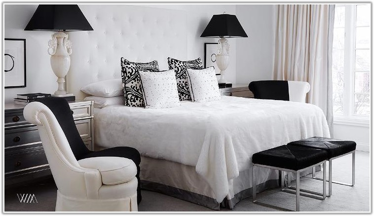 Black And White Bedroom Lamps