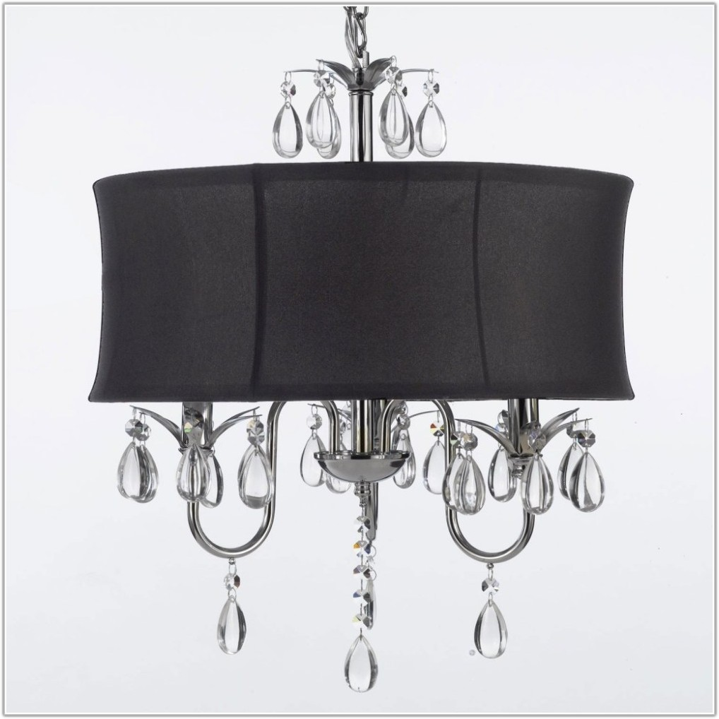 Black Chandelier Style Lamp Shade