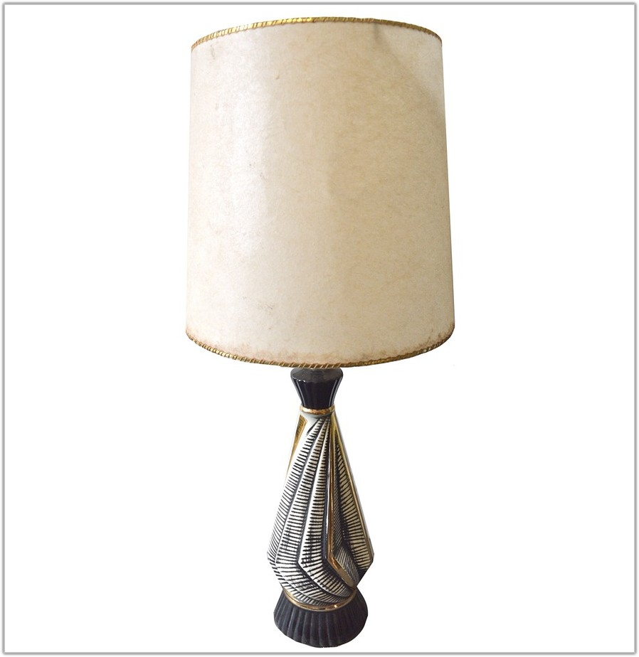 Black White And Gold Lamp