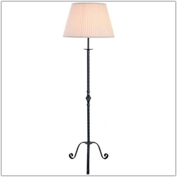 Black Wrought Iron Floor Lamp Uk