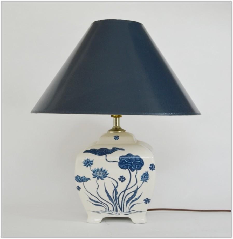 Blue And White China Lamp
