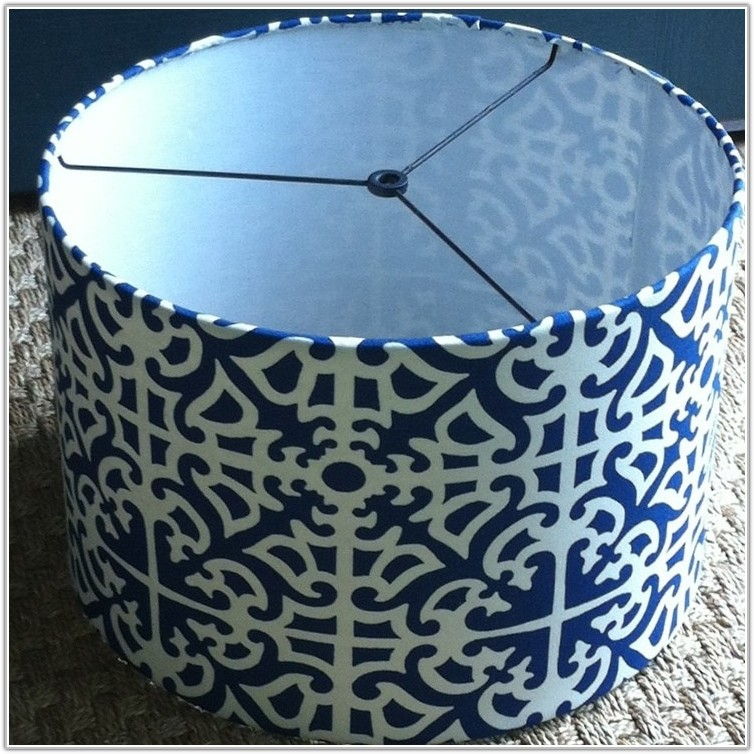 Blue And White Lamp Shades