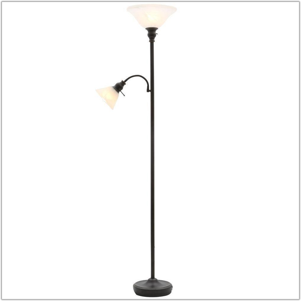 Bronze Floor Lamp With Reading Light