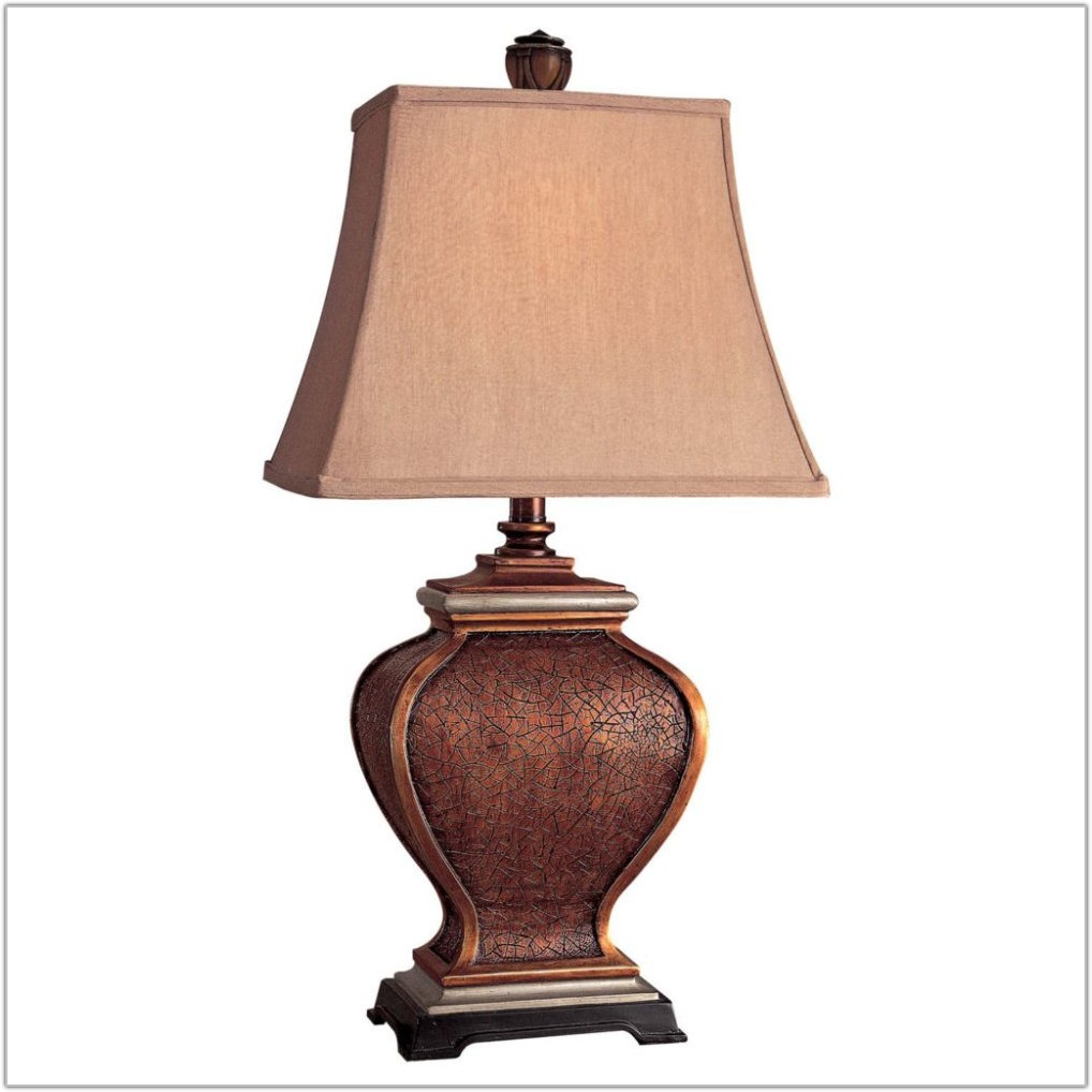 Buffet Table Lamps With Black Shades