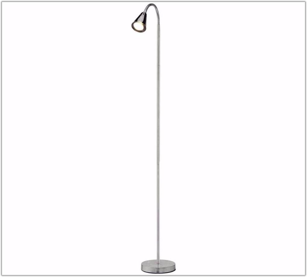Chrome Reading Light Floor Lamp