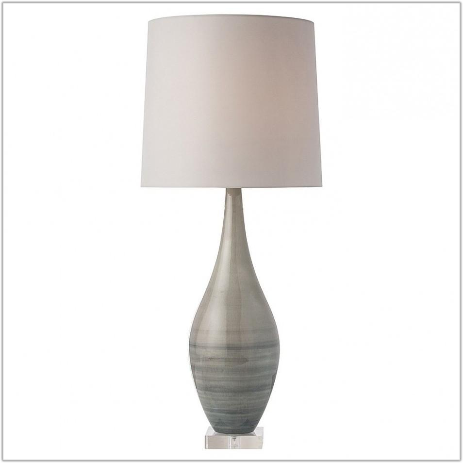 Clear Acrylic Base Table Lamp