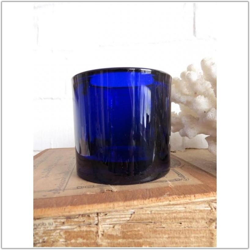 Cobalt Blue Glass Lamp Shades