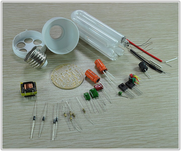 Compact Fluorescent Lamp Cfl Circuit