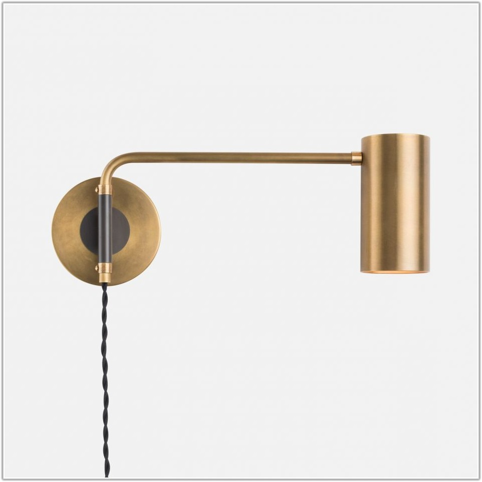 Contemporary Swing Arm Wall Lamps