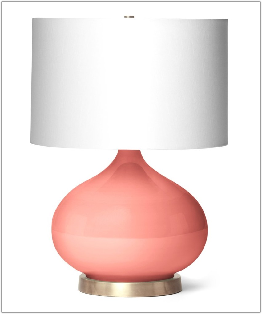 Coral Colored Lamp Shade Uk