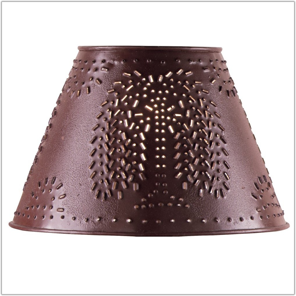 Country Style Chandelier Lamp Shades
