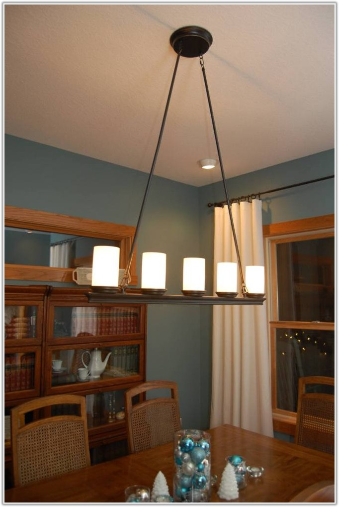 Country Style End Table Lamps