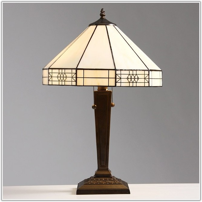 Craftsman Style Table Lamp Plans