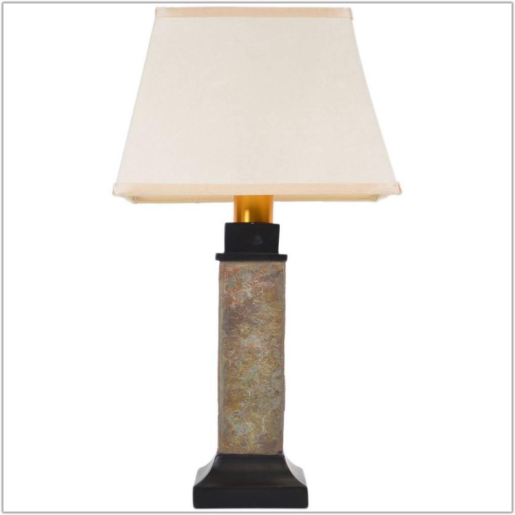 Cusworth Resin Natural Wood Table Lamp