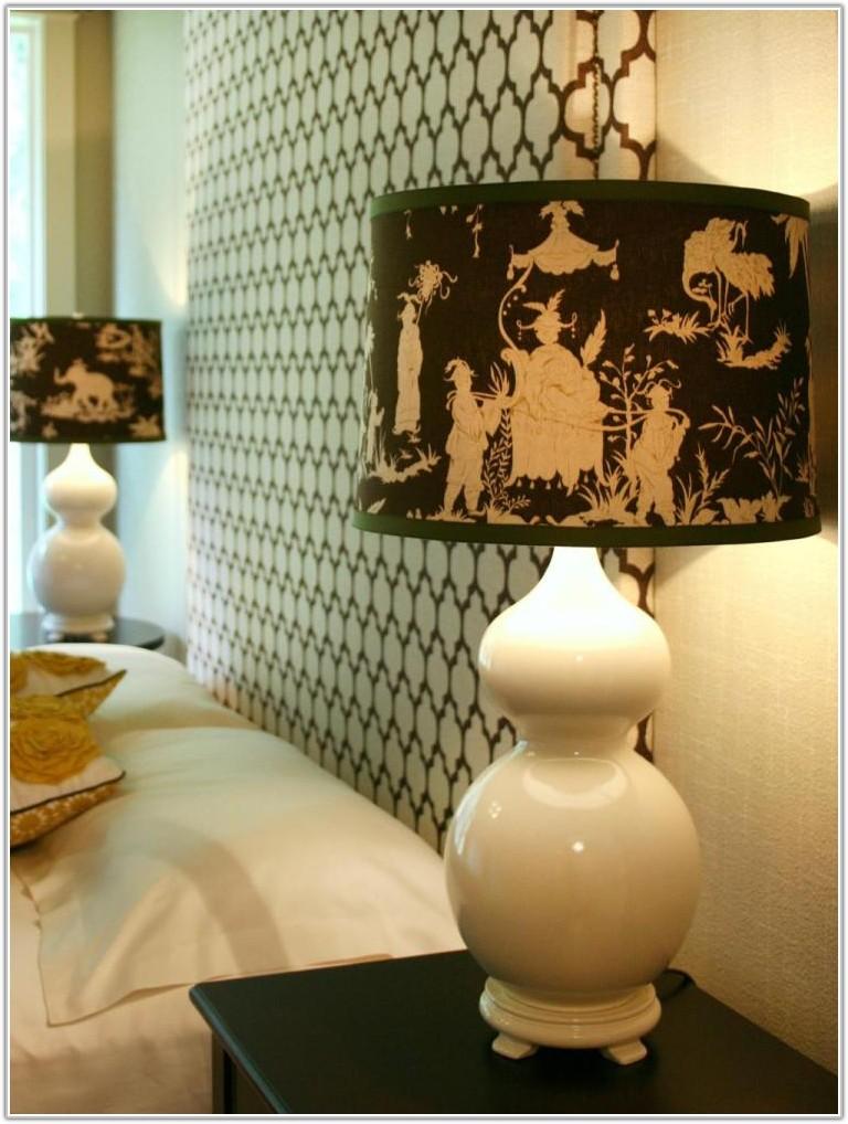 Dark Green Fabric Lamp Shade