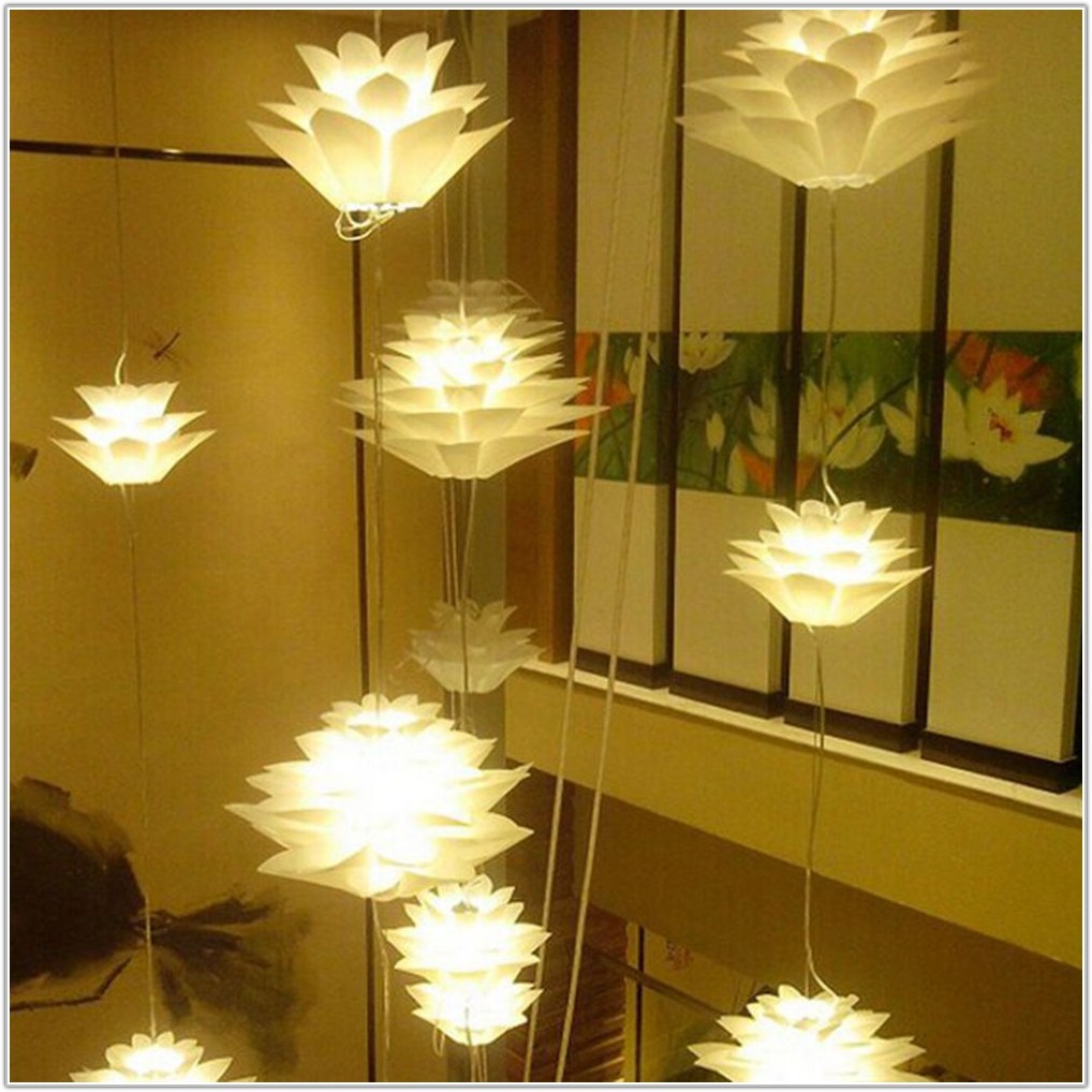 Diy Lamp Shade For Chandelier