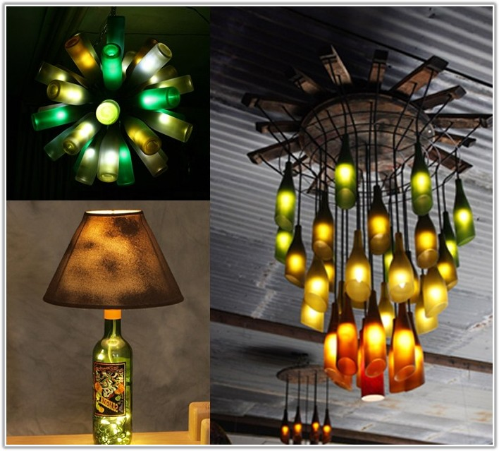 Diy Wine Bottle Lamp Projects