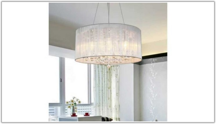 Drum Shaped Chandelier Lamp Shades