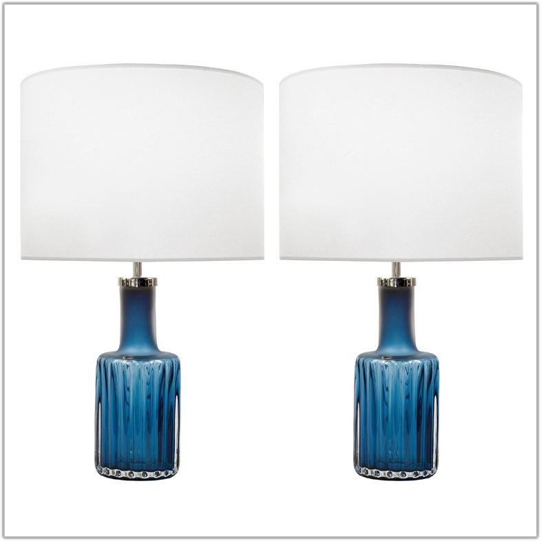 Duck Egg Blue Table Lamp Shades