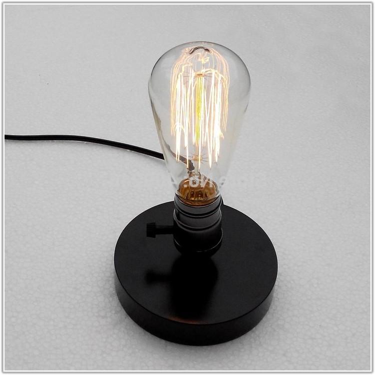 Edison Light Bulb Desk Lamp