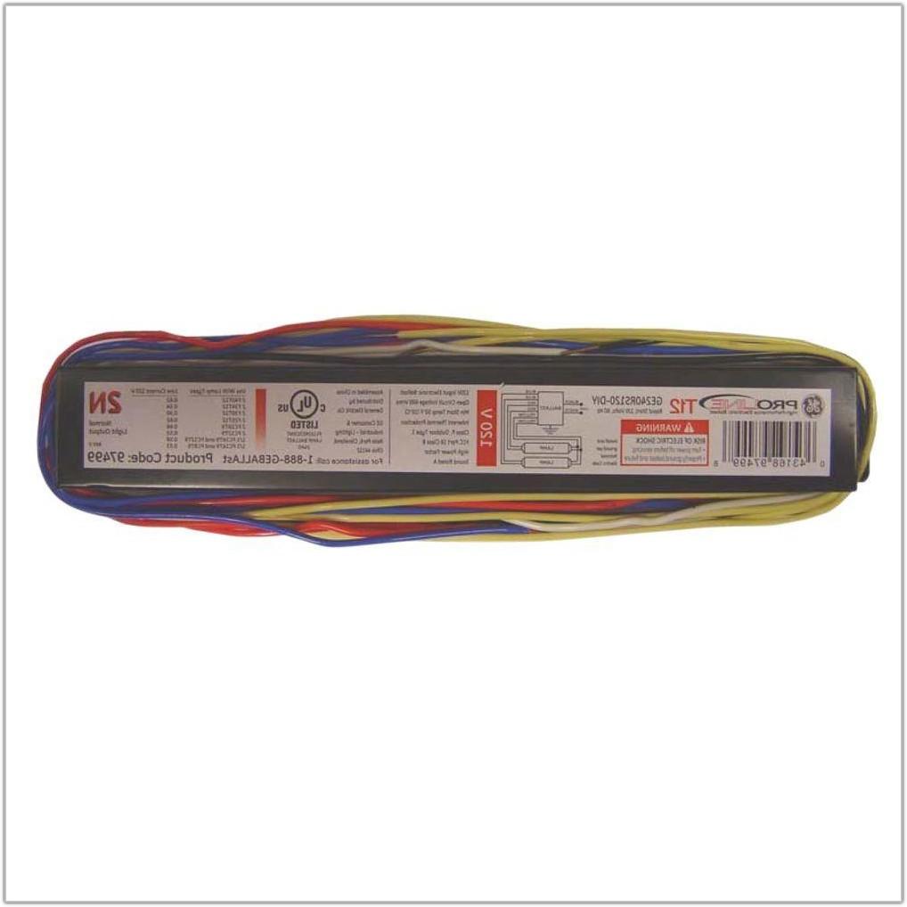 Electronic Ballast 4 Lamp T12