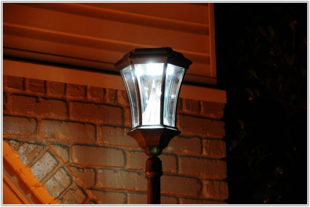 Exterior Solar Lamp Post Lights