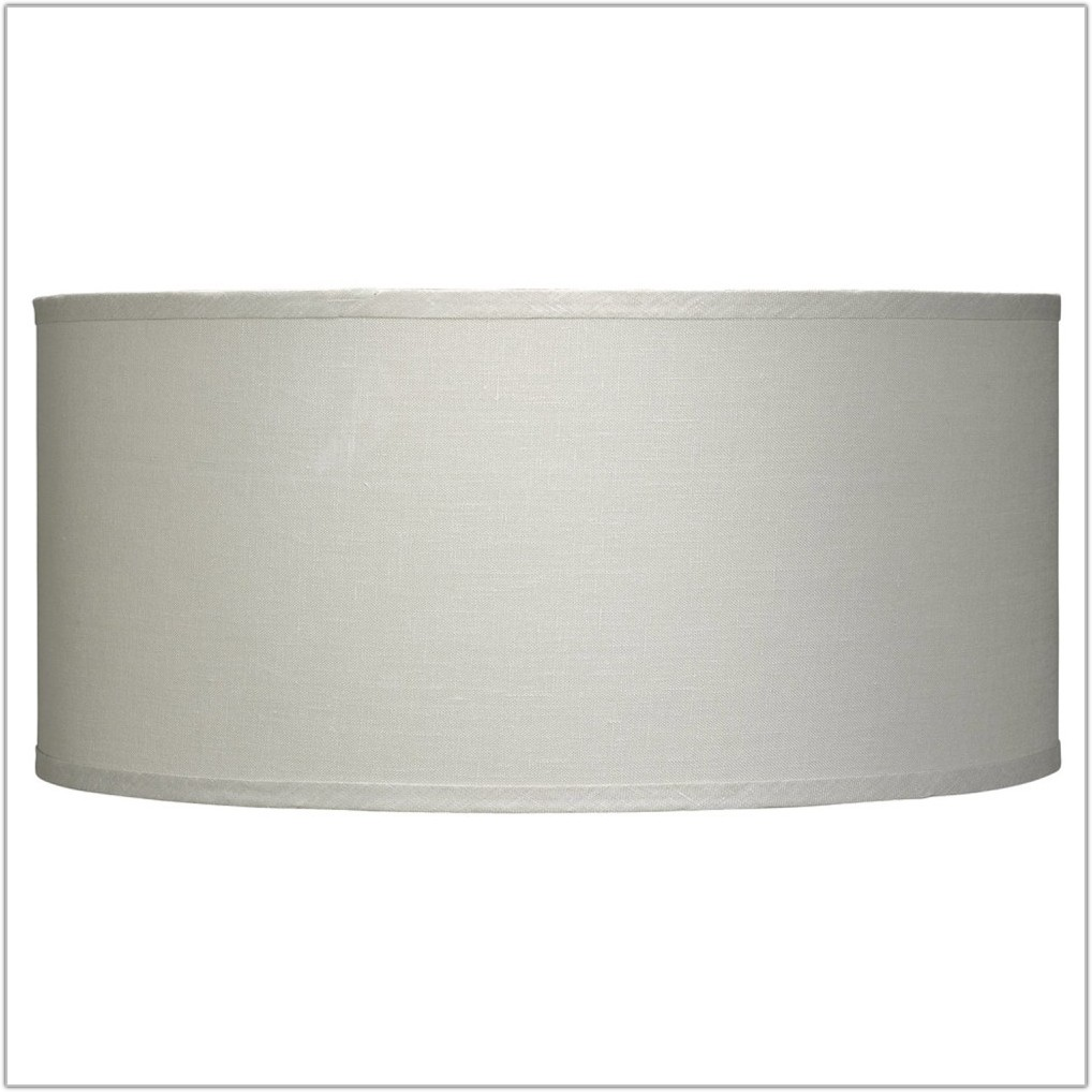 Extra Wide Drum Lamp Shades