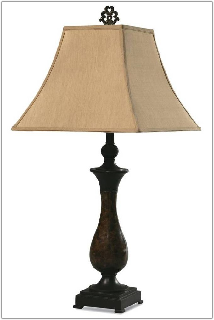 Fabric Lamp Shades For Table Lamps