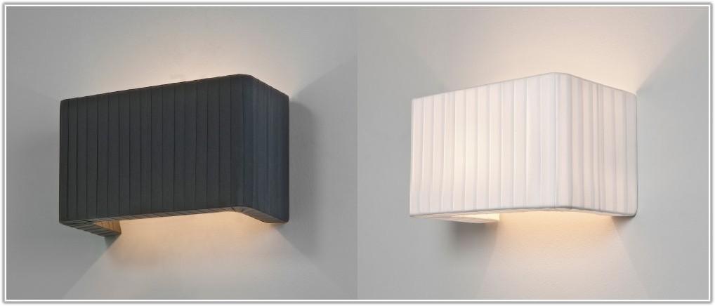 Fabric Lamp Shades Wall Lights