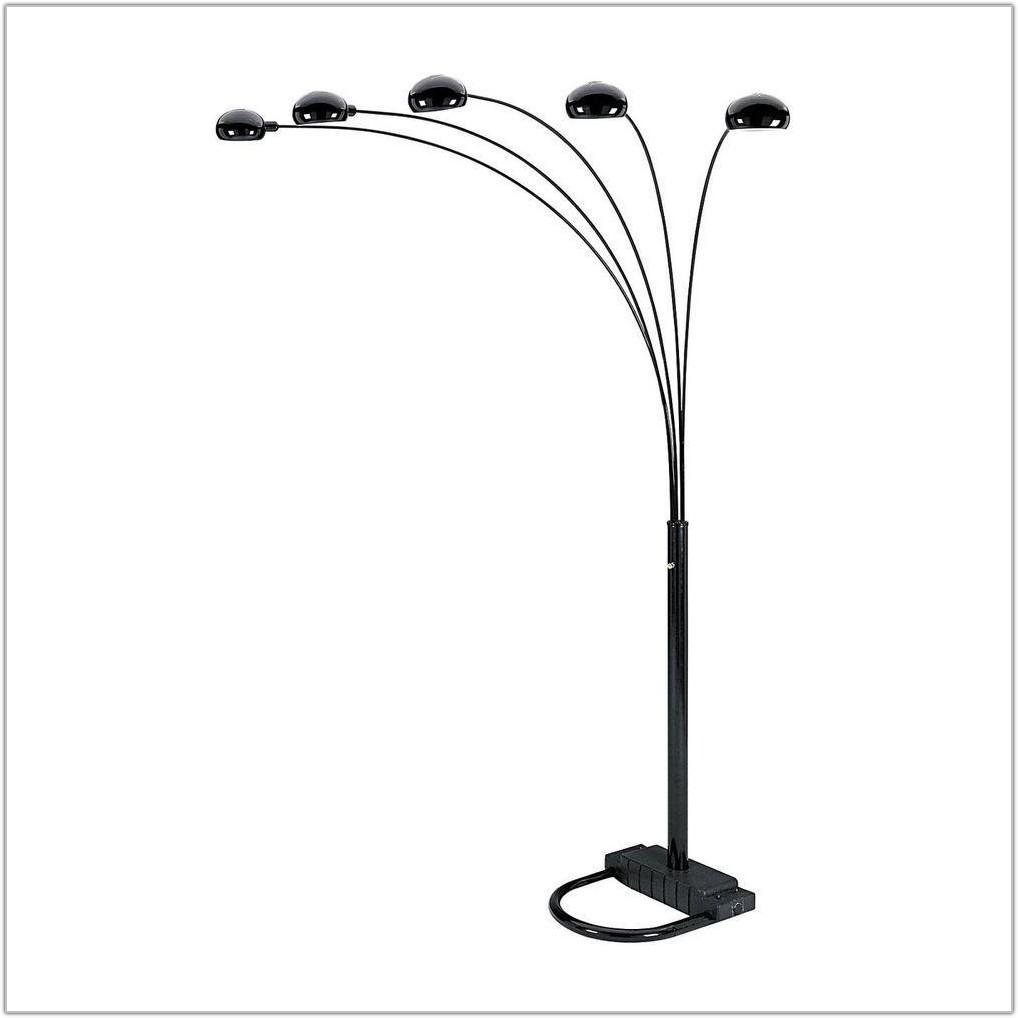 Five 5 Arm Floor Lamp