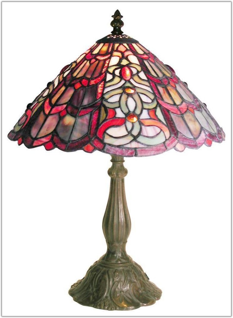 Floor Lamp Base For Stained Glass Shade