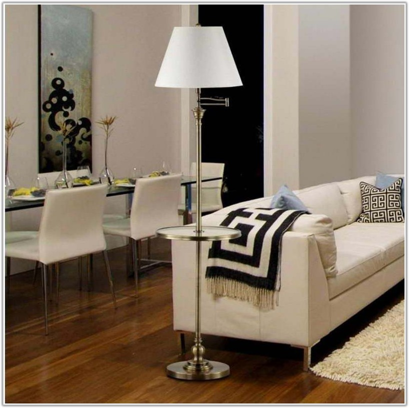 Floor Lamp Over Dining Room Table