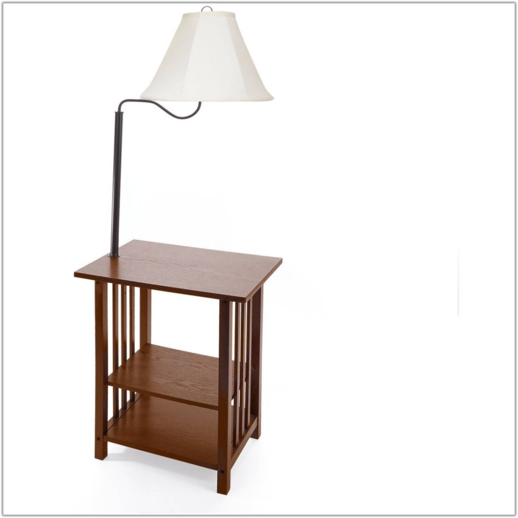 Floor Lamp Table Lamp Combo