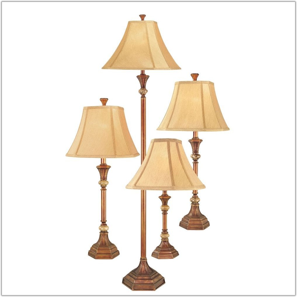 Floor Lamp Table Lamp Set