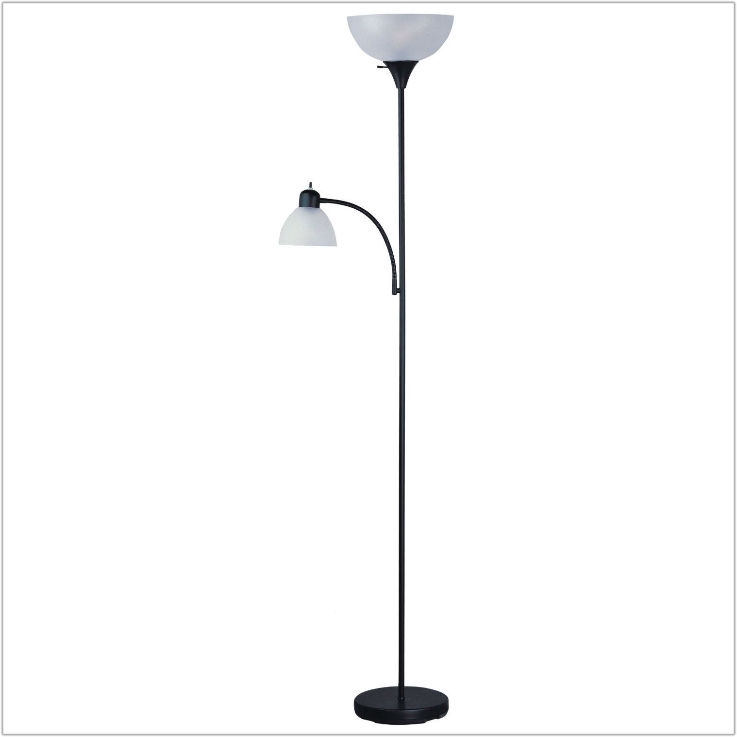 Floor Lamp With Side Reading Lamp