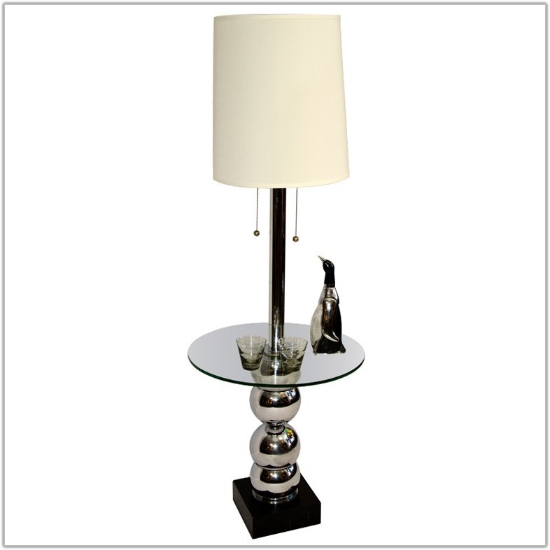 Floor Lamp With Table Target