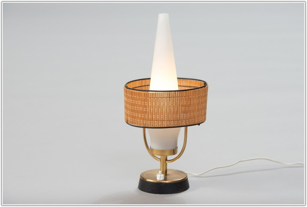 Frosted Glass Shade Table Lamp