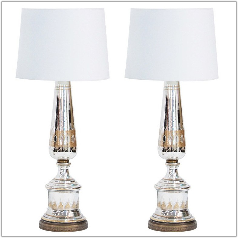 Glass Base Table Lamps Australia