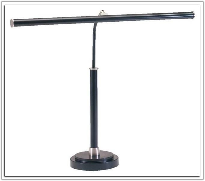 Glide Satin Black Contemporary Led Desk Lamp