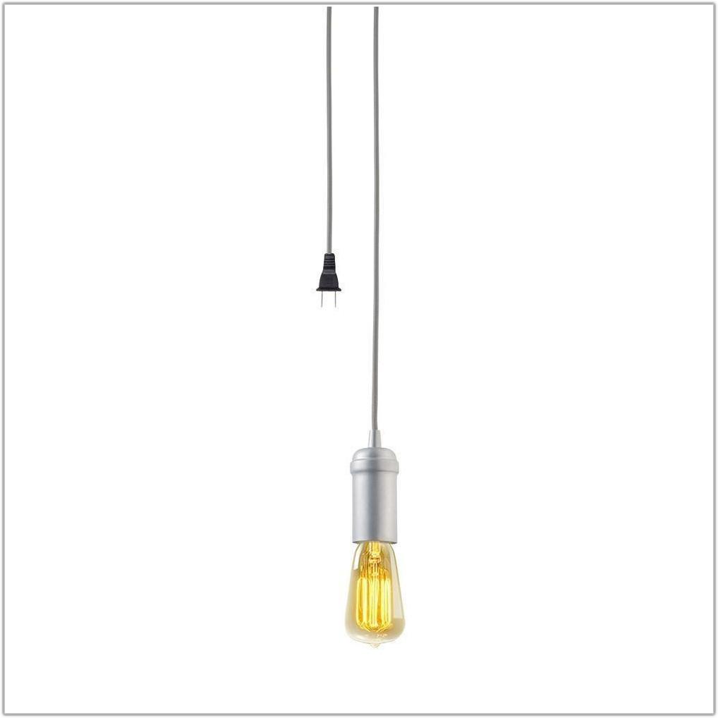 Hanging Light Kit With Plug
