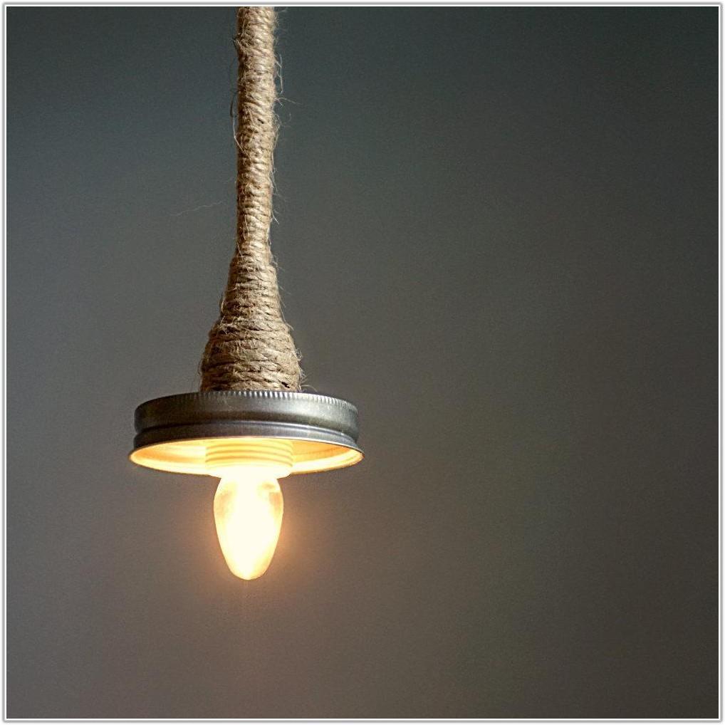 Hanging Mason Jar Pendant Lamp Kit