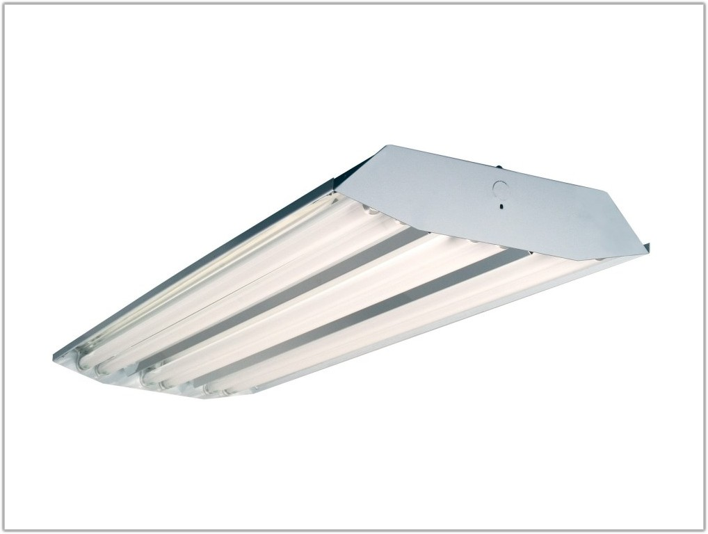 High Bay 6 Lamp T8 Fluorescent Fixture