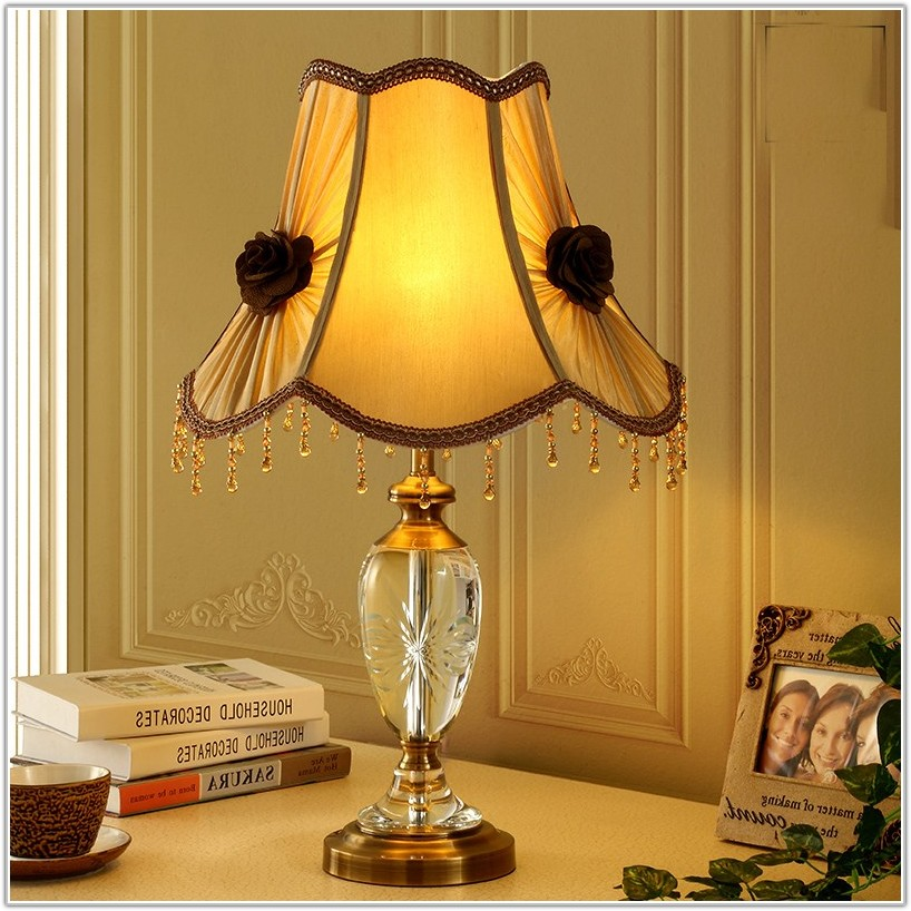 High Quality Crystal Table Lamps