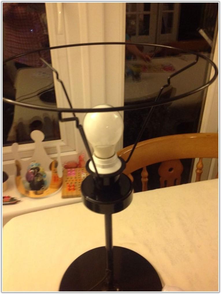 Ikea Black Metal Table Lamp